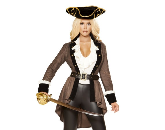 Roma Costume 5pc Pirate Booty Diva 4858