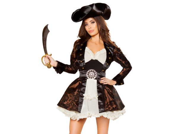 Roma Costume 5pc Pirate Beauty Costume 10071