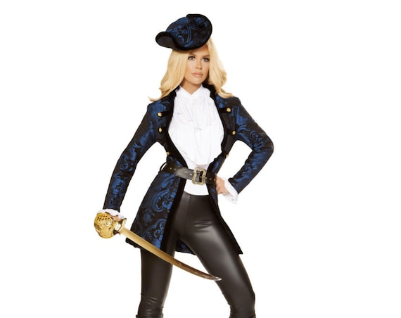 Roma Costume 5pc Swashbuckling Pirate Beauty 4860