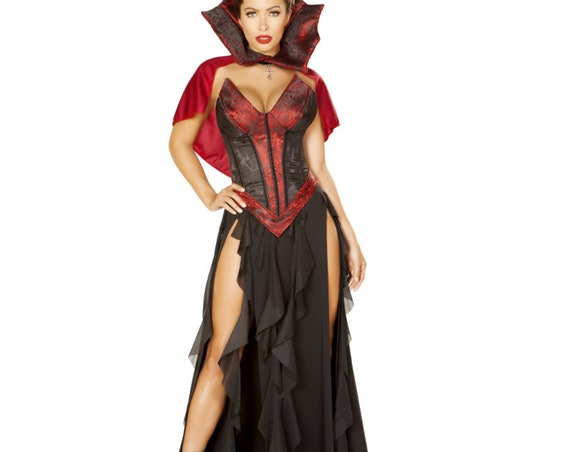 Roma Costume 3pc Blood Lusting Vampire 4864
