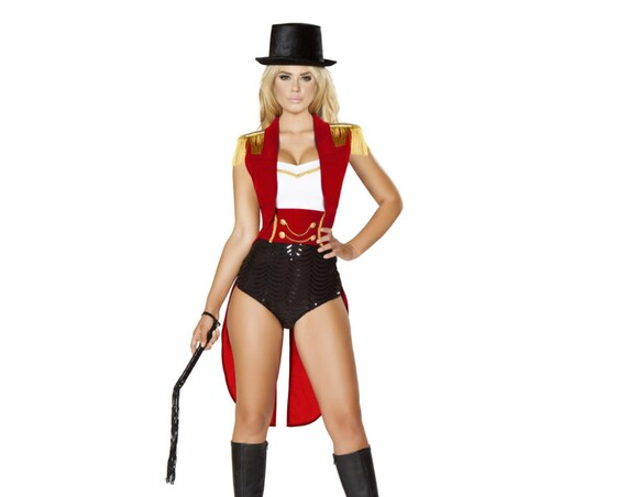 Roma 5pc Sexy Lion Tamer Circus Costume 4709