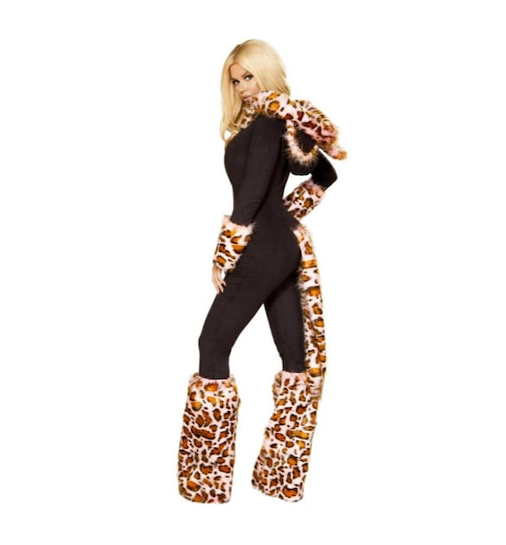Roma Costume 3pc The Pink Leopard 4874