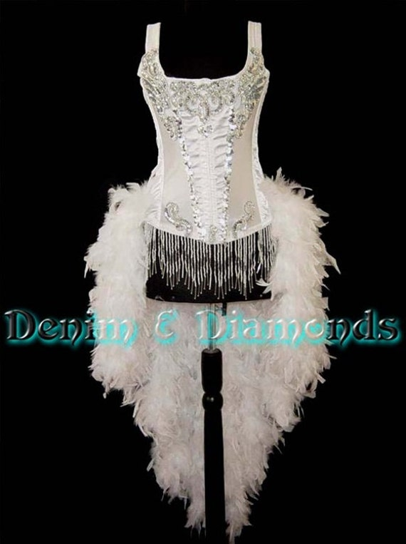 Pick Size & Color-Feature Entertainer Theater Feather Costume Moulin Burlesque