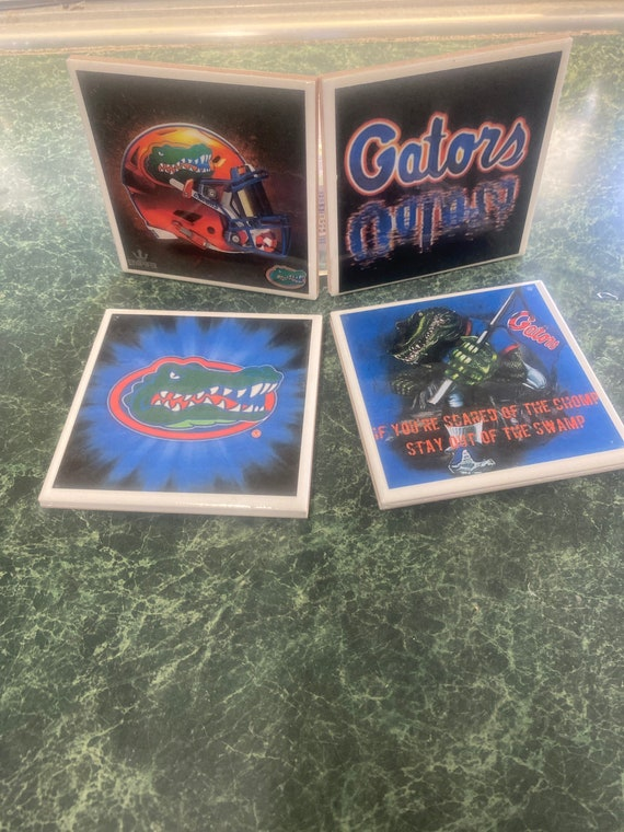 Florida Gators Ceamic Tile Coasters
