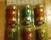 Vintage 1960 39 s K-Mart Deadstock in Package Soldier Christmas Ornaments Japan