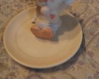 Country Bumpkins Scarecrow Gum Saver Trinket Dish