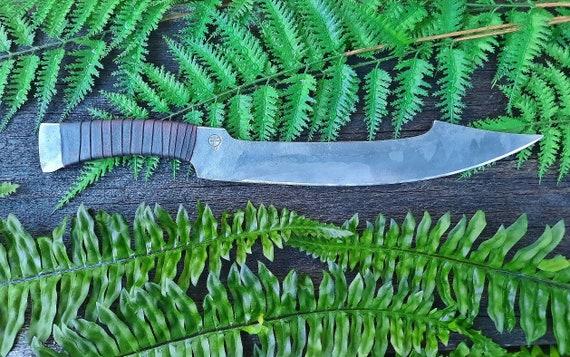 Large Egyptian Khopesh knife, hand forged.