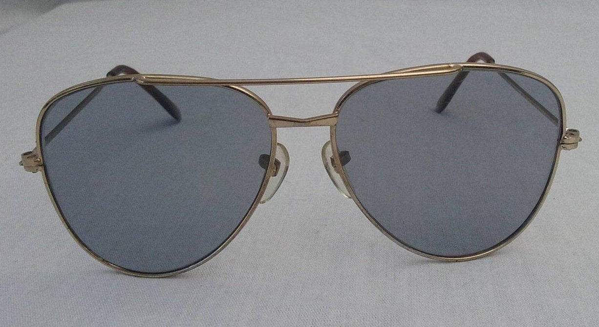 Gafas de sol Flight Aviator Motorcycle marcos de metal tonos