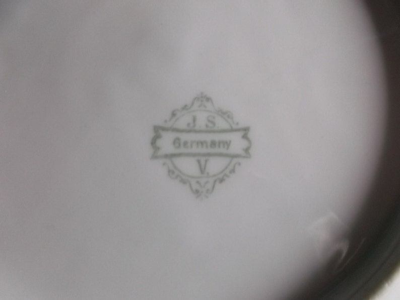 Vintage Serving J S V Germany plate