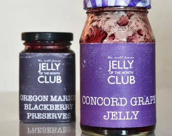 Printable Jelly of the Month Club Labels