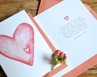 Missing Piece Condolence Card (for Miscarriage or Child Loss)