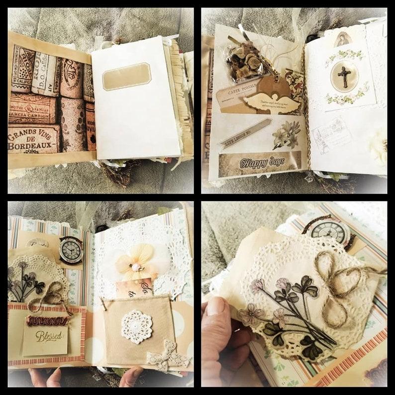 The Big Book of Treasures Junk Journal