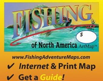 Fishing Adventure Map (FOLDED)