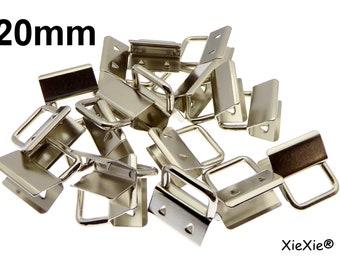 Schlüsselring für Schlüsselanhänger Klemme/_ Neu 10 x Klemmschließe