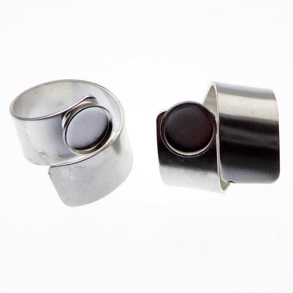Fassungen-Verbinder silber 12mm ab 0,19€//Stk
