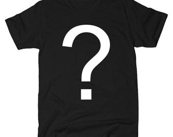 MYSTERY TSHIRT - Black pop culture movie inspired tshirt LIMITED