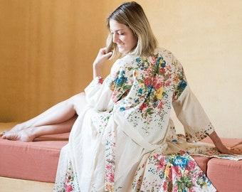 Orchard Blossom Long Kimono