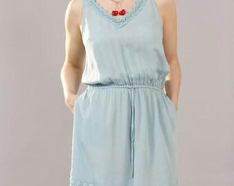 Porcelain Lace Dress