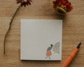 Always Smell The Flowers Sticky Note | Sticky Notes, Memo Pad, Notepad, Stationery