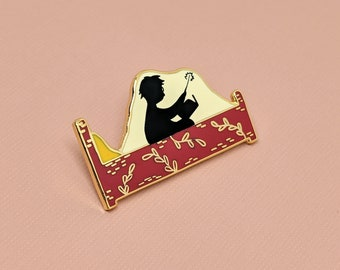 Lumos Enamel Pin | Hard Enamel, Enamel Pin, Lapel Pin, Flair, Lumos Maxima, Harry Potter Inspired Pin