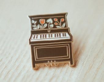 Amazing Piano Enamel Pin | Hard Enamel, Enamel Pin, Lapel Pin, Flair, Instrument Pin,  Musician Pin, Music Pin, Gift For Musician, Music Gifts