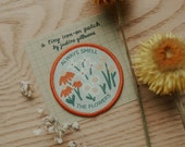 Always Smell The Flowers Tiny Iron-On Patch | Iron on patch, Iron on patch flower, Patch, Patches, Patches for jackets, Patch for backpack