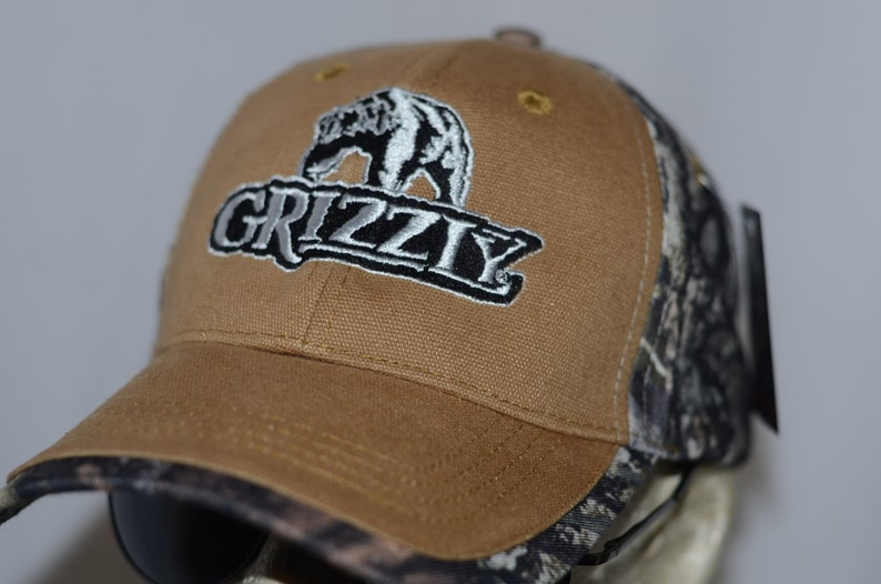 Grizzly Hat chewing tobacco cap camo snuff wintergreen dip redneck long cut  chew Country Deep South Rebel Flag Chaw Spit Deliverance Honky