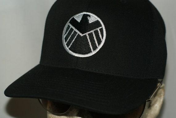 4f1b94cd2 Agents Of SHIELD Hat TV Show Cap Tony Stark Industries Avengers Thanos Thor  2 Marvel Infinity Gauntlet Cosplay Iron Man Captain America Hulk