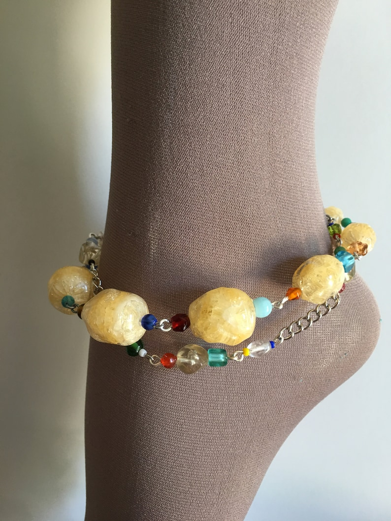 Two Strand Chunky Anklet