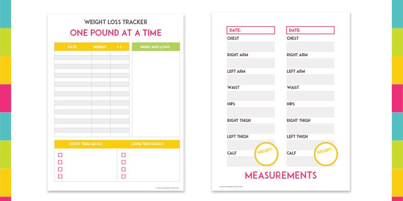 photograph regarding Fitness Printables identified as Motivational Exercise Health and fitness Printables - Quick Down load - Bodyweight Decline - Exercise Eyesight Board - Supper Planner - Health and fitness Log - Foodstuff Magazine