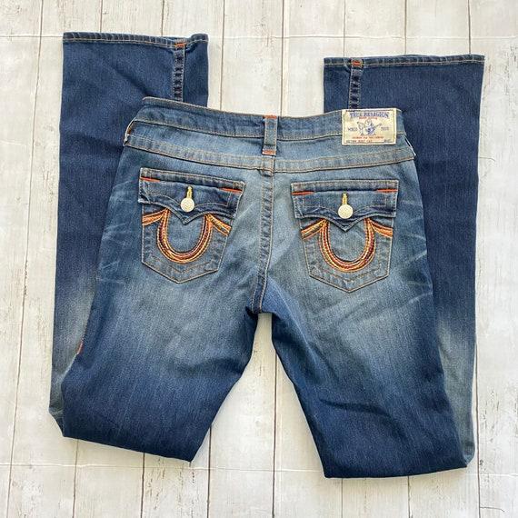 True Religion Jeans, Vintage Jeans, distressed Jea