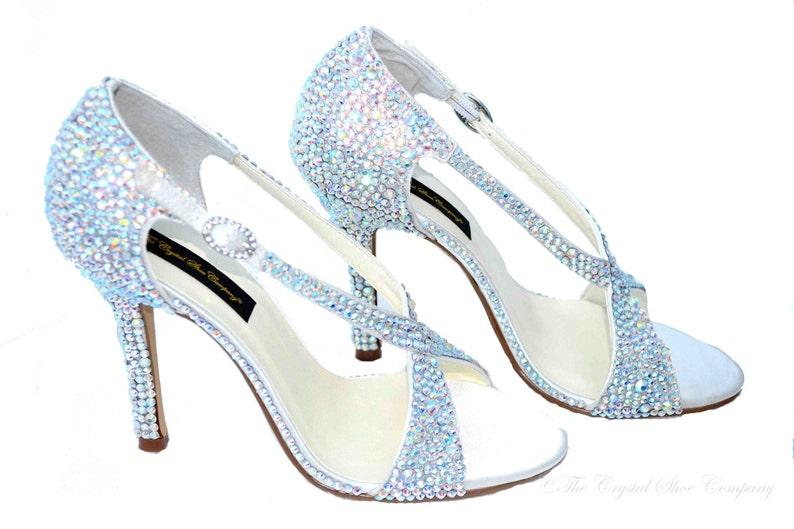 8f68841cb SALE Swarovski Aurora Borealis Ab crystal wedding bridal