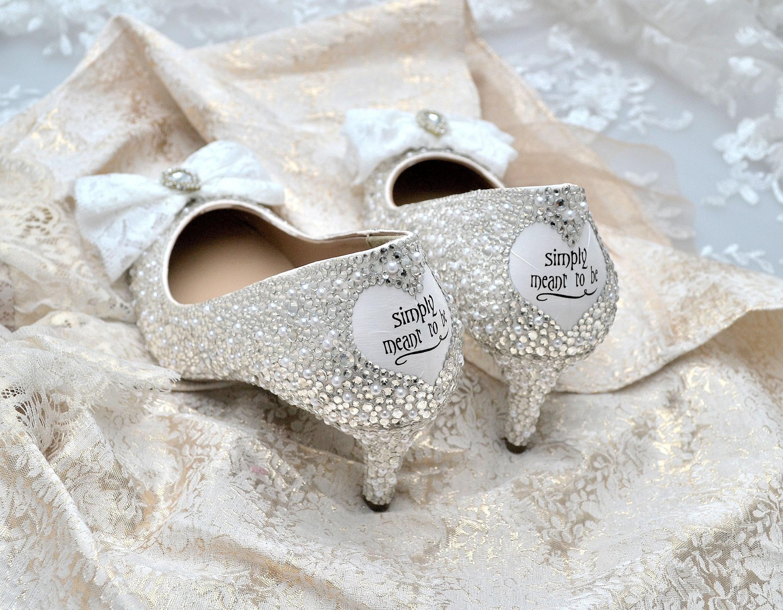 02e559eb5d60 Swarovski pearl white silver crystal encrusted lace vintage