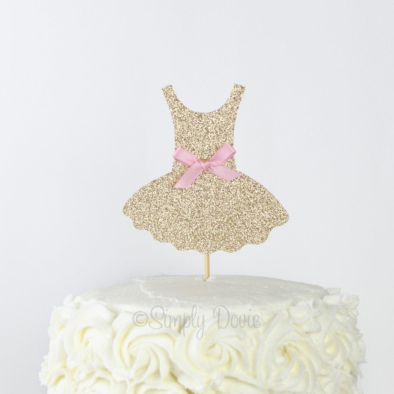 Brilliant Tutu Glitter Cake Topper Gold Glitter Tutu Tutu Birthday Etsy Personalised Birthday Cards Akebfashionlily Jamesorg