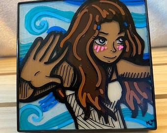"4""x4"" Katara Painting"