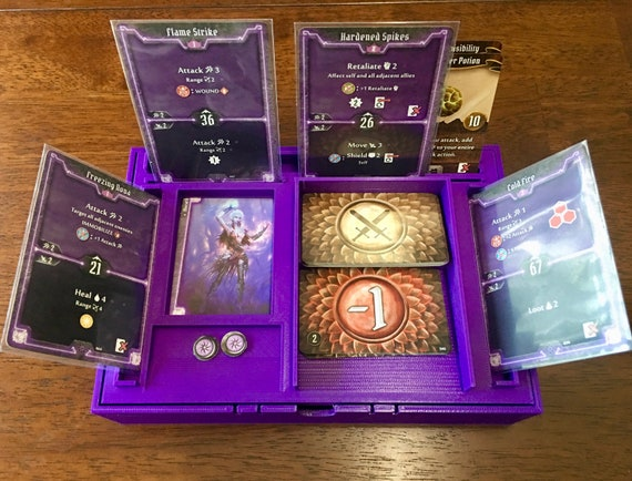 3d Printed Gloomhaven Character Dashboard And Storage Box