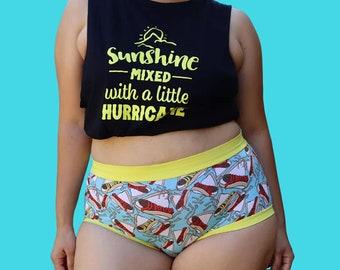 The Undies - Mentionables {Underwear} - PDF Sewing Pattern