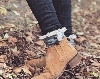 Ankle + Boot Cuffs - Adult + Children's - PDF Sewing Pattern