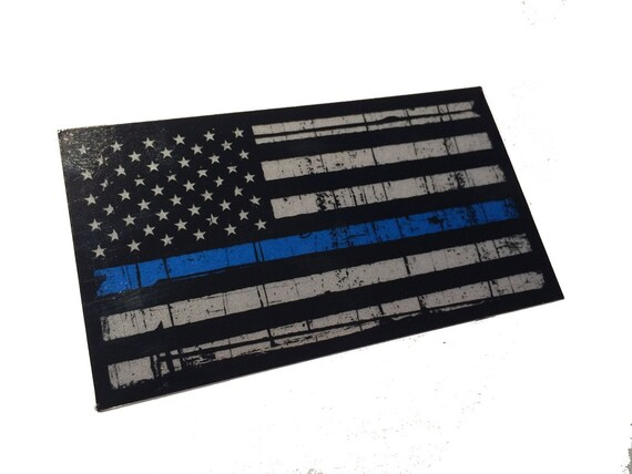 "PLM-SM-B Police Lives Matter Bumper Vinyl Sticker 3.75/""X2.25/"" Set of 2 Cop Flag"