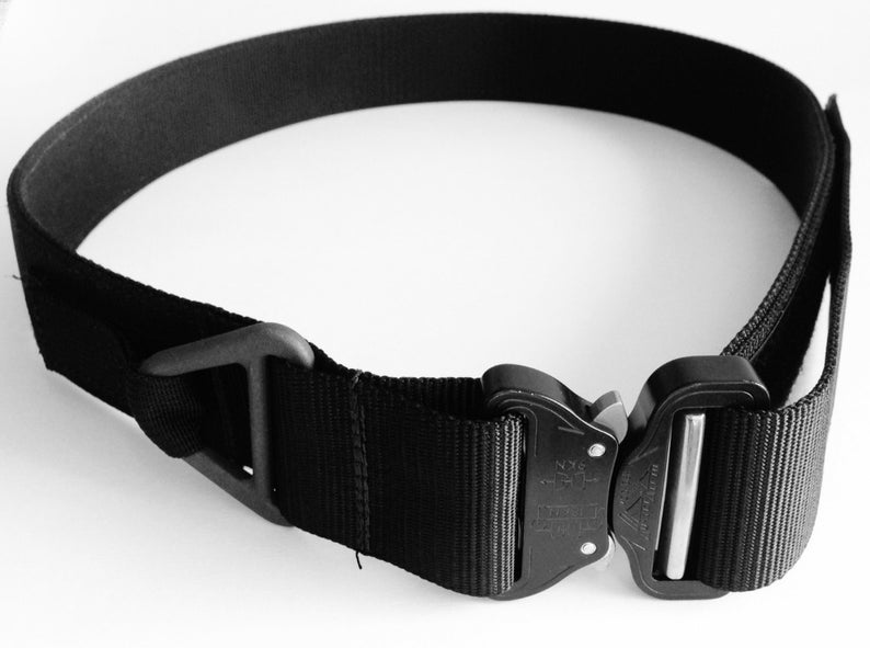The Tactical Military Assault Gear Cobra Buckle Riggers Belt