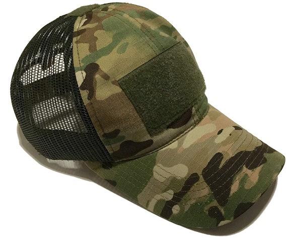 Multicam Tactique opérateur Casquette Avec Drapeau Américain Camouflage Armée Baseball Chapeau Casquette