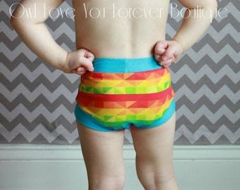 Little girl wet panties