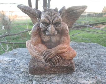 Medium Winged Gargoyle ConcreteDesignStudio