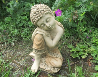 Small Napping Buddha Statue
