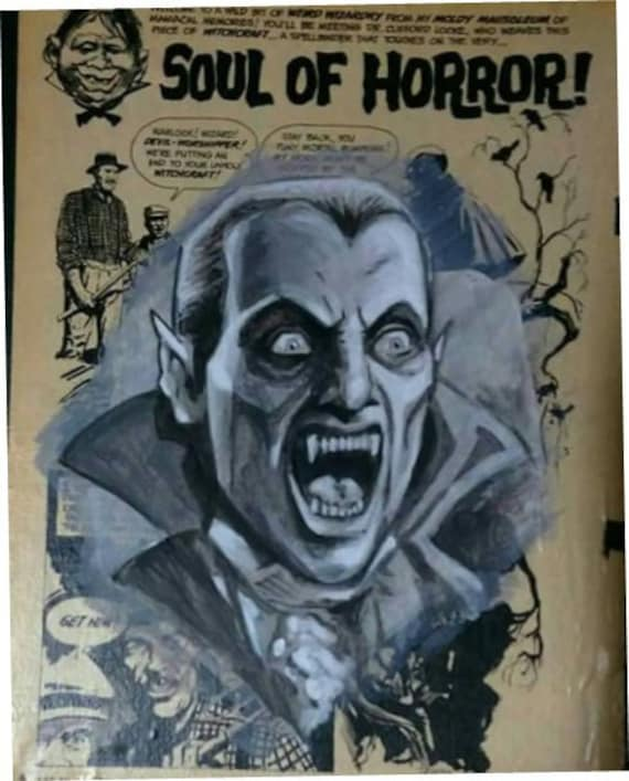 Vintage Creepy /& Eerie Magazine Complete Horror Collection