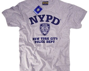 9377c8072 NYPD Shirt T-Shirt Officially Licensed Clothing Apparel by The New York  City Police Department