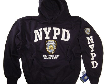 46b13106c NYPD Sweat shirt Hoodie Officially Licensed Clothing Apparel by The New  York City Police Department