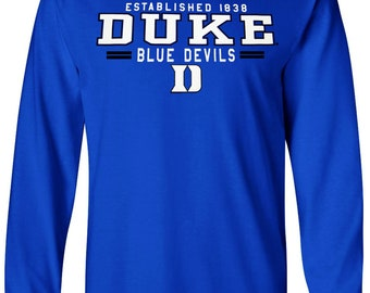 Duke Shirt T-Shirt Blue Devils College University Apparel Officially  Licensed By The NCAA 3d8f14820
