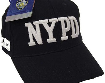 NYPD Hat Baseball Cap Officially Licensed Clothing Apparel By The New York  City Police Department a7cfda5b7fd