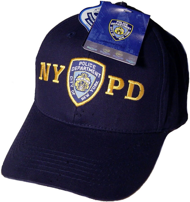 33146c67b NYPD Hat Baseball Cap Officially Licensed Clothing Apparel By | Etsy